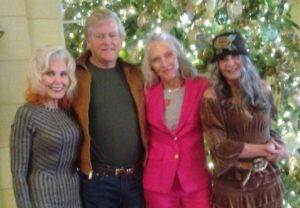 (From L) Diane Varlesi, Spencer Wetherall, Nancy McLeod, and Kayle Higginbotham. (Photo by Jennifer Mulson)